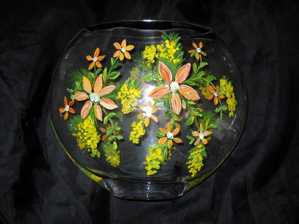 vase peint