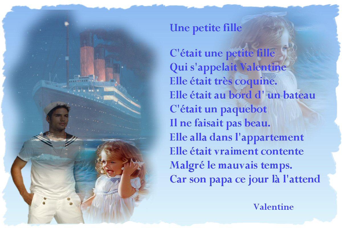 Poeme D Une Fille A Son Papa